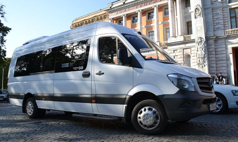 Выберите микроавтобус для перевозки