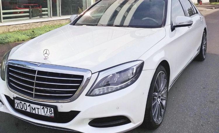 Рис. Mersedes Benz класс S