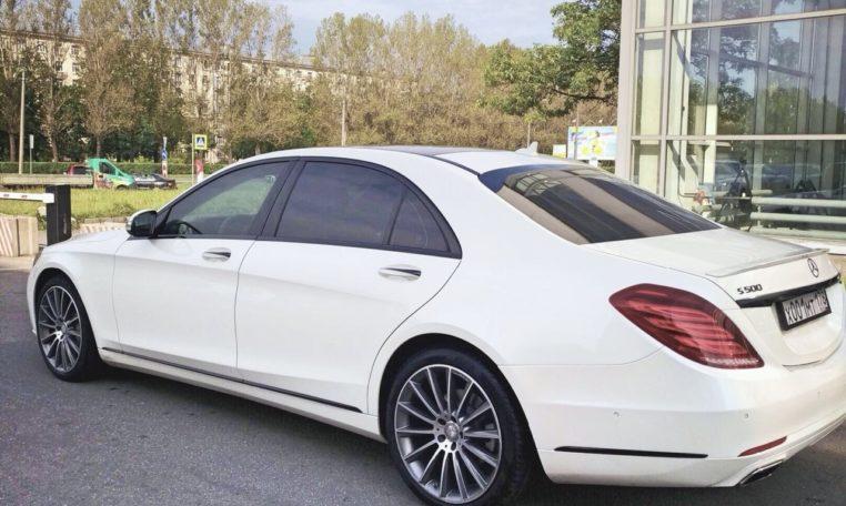 Рис. Mersedes Benz S class